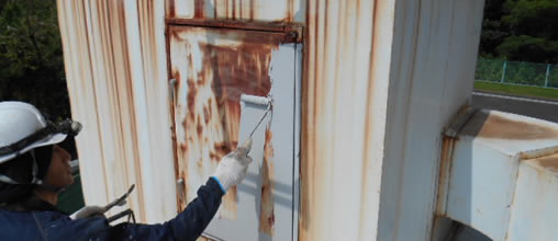 塗装工事・架設足場設置