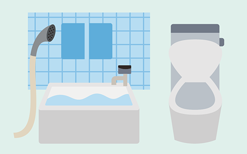 浴槽やトイレの防カビ・消臭